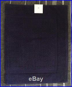 Pottery Barn Kids shark shower curtain Bath Towel hand towel bath mat navy 4pc