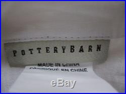 Pottery Barn Margaritte Embroidered 50x108 Drape Multi-color TWO PANELS EUC