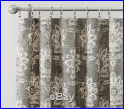 Pottery Barn Margot Blackout Drapes Curtains 4 Panels Included 96 Grey Floral