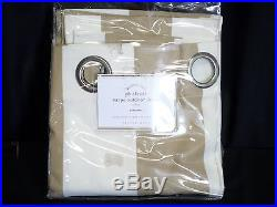 Pottery Barn PB Classic Stripe Indoor Outdoor Drapes Curtains Grommet 50x84