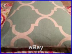 Pottery Barn PB Teen Paisley Twin Bedding Set-Duvet Cover, Sham, Curtain, Pillow