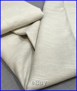 Pottery Barn PB Teen Set/2 Khaki Classic Linen Blackout 84 Drapes Curtains