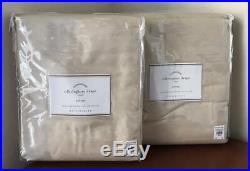 Pottery Barn Silk Dupioni Drape Doublewide (Set of 2) 104 x 84 Saraha