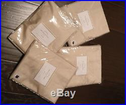 Pottery Barn Silk Dupioni Drapes Curtains Sahara 84 (4)