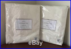 Pottery Barn Silk Dupioni Grommet Drape (Set of 2)50x124Ivory