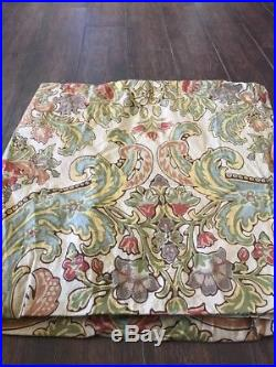 Pottery Barn Simone Drapes One Pair (2 Panels) 50 x 96 Great Condition