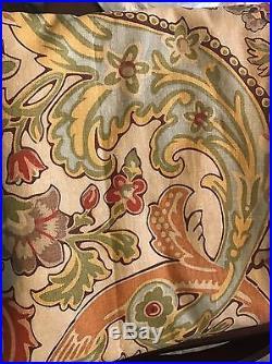 Pottery Barn Simone Drapes Set/3 50x84