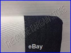 Pottery Barn Sunbrella Awning Stripe Drapes Curtains Panels Grommet 50x124 NAVY