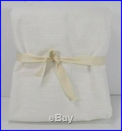Pottery Barn Teen Classic Linen Blackout Drape Panel Curtain White 96 #6932