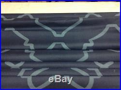 Pottery Barn Trisha geo Print Roman Window Blind curtain Shade Blackout 36x64