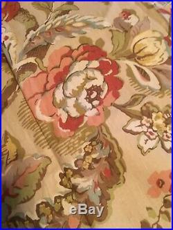 Pottery Barn Vanessa Curtains Beige 50x84