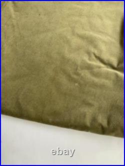 Pottery Barn Velvet Curtains Set of 2 Drapes 96 x 96 in Light Brown Pole Pocket