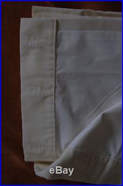 Pottery Barn Velvet Single-width Velvet Drapes set Ivory 50 x 108