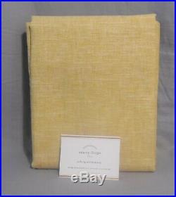 Pottery Barn Wheat Emery Linen/Cotton Drapes 108 Curtains Set/2