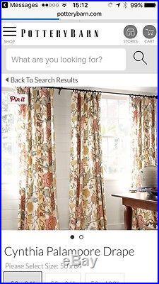 Pottery barn curtains 108