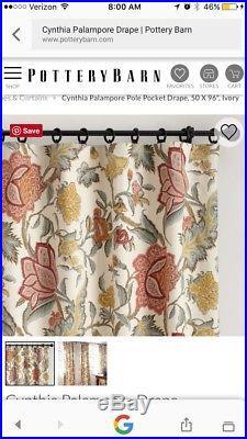 Pottery barn curtains 84