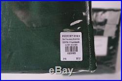 Set/2 NWT Pottery Barn Silk Dupioni blackout drape panels 50x96 emerald green
