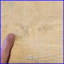 Set 2 Pottery Barn Dupioni Silk Curtains Gold Shimmering Double Wide 104 x 84