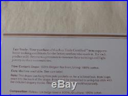 Set of 2 POTTERY BARN 50 x 96 BELGIAN FLAX LINEN DRAPES Ivory Lined