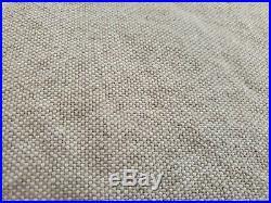 Set of 4 Pottery Barn Linen Cotton Blend Tan Beige Drapes Curtains 50x84